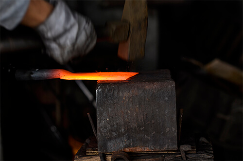rong ai knife forging