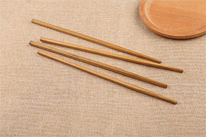 Chinese traditional chopsticks with a round head and a square end