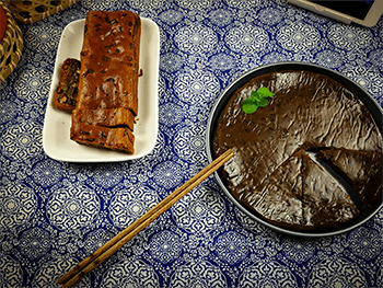 Chinese New Year Cake Sweet Sticky Rice Cake For Post Banner RONG AI
