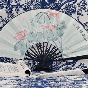 Rong Ai Knife Silk Fans Gentle Breeze 1