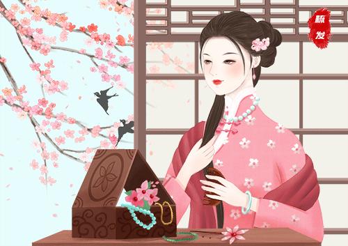Li Ziqi cultural output rongai knife beauty life-1